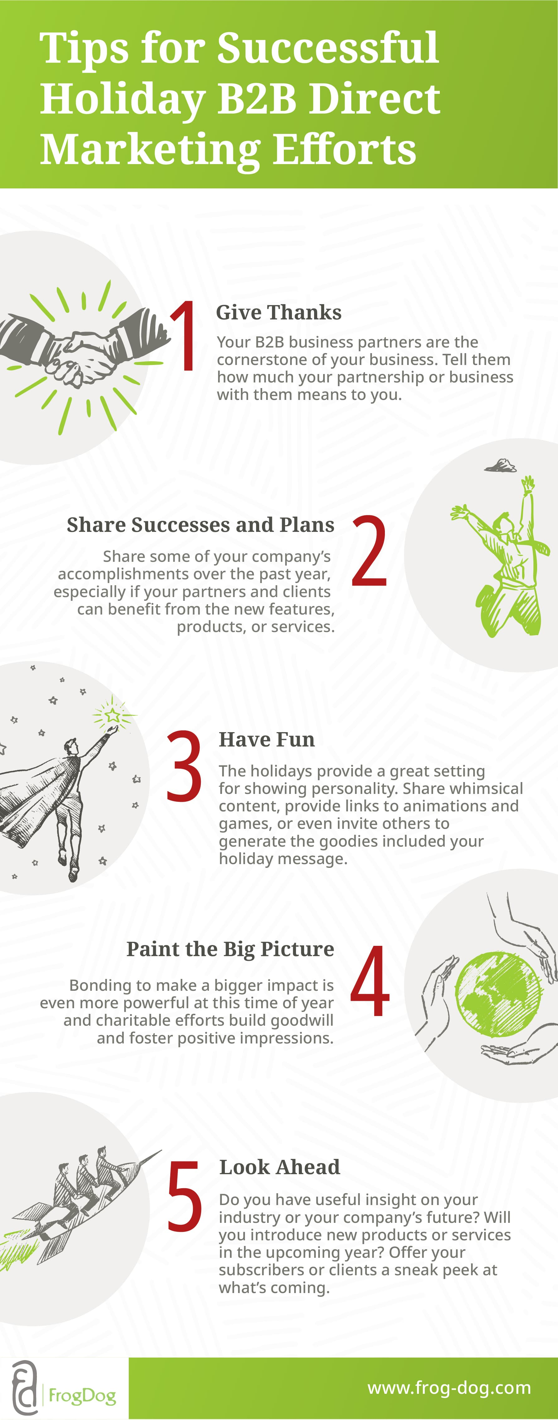 FD Christmas Infographic 5 Marketing Habits 5 Marketing Habits