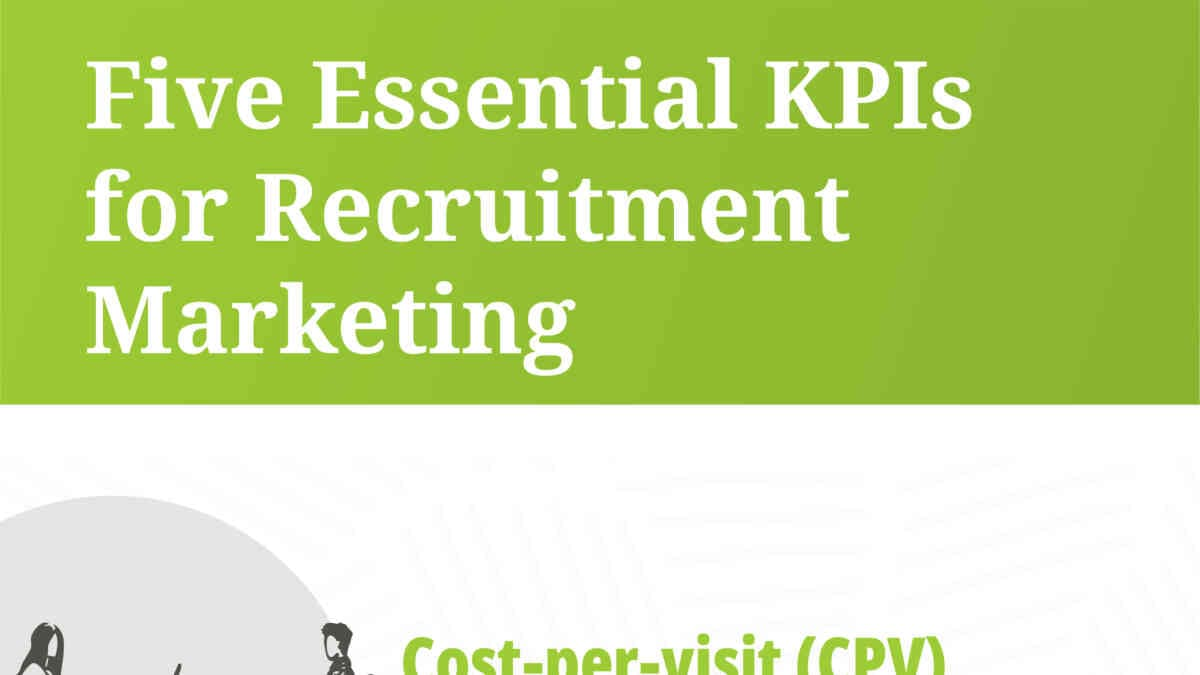 Infographic: Five Essential KPIs for Recruitment Marketing