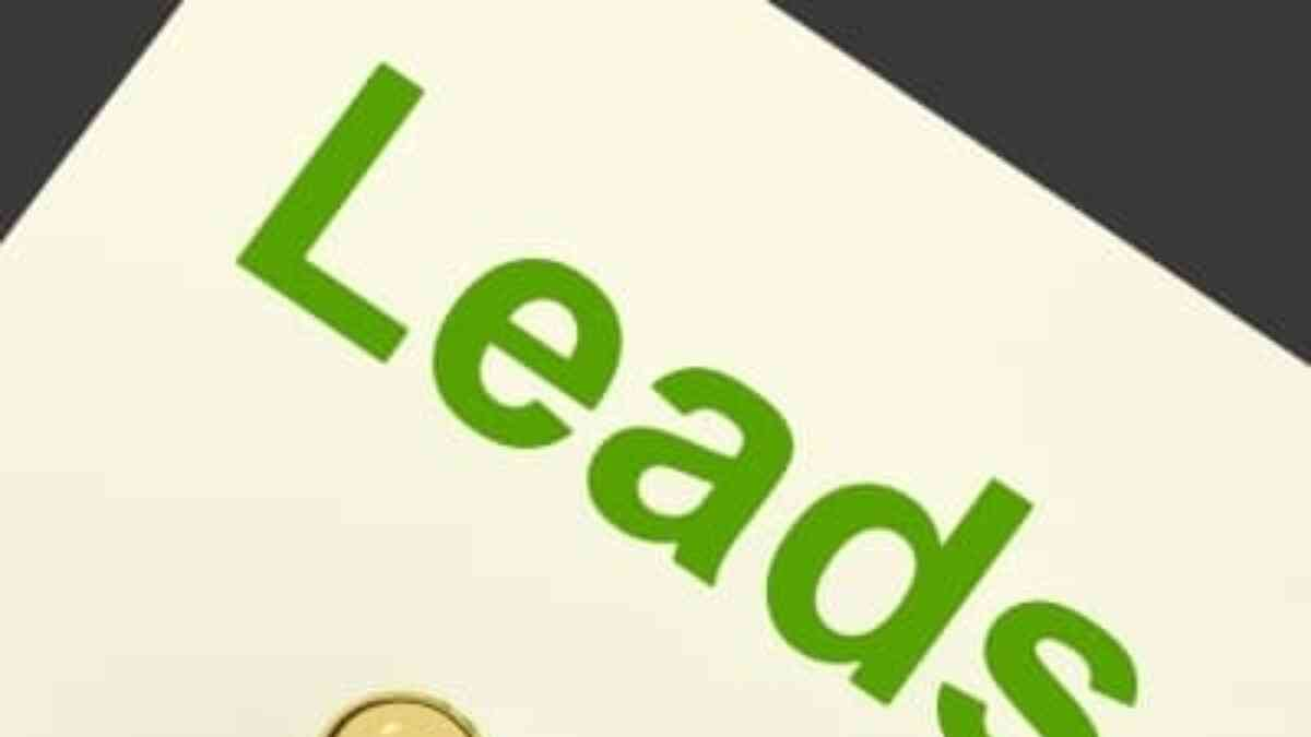 Marketing for Lead Generation