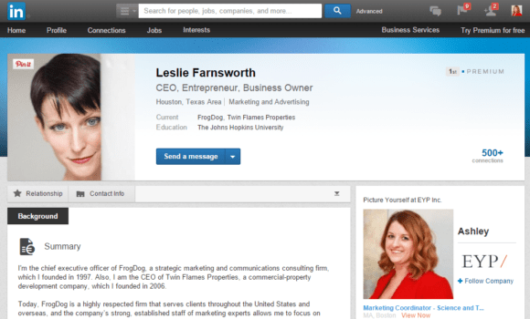 Building Your LinkedIn Profile for Sales