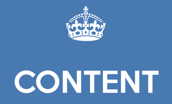 Business Blogging: Content is King
