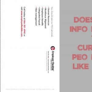 Direct Mail Piece #1
