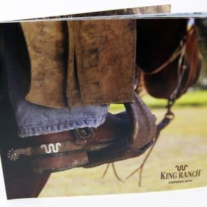 Corporate Gifts Catalog // FrogDog designed a corporate gifts catalog for King Ranch.