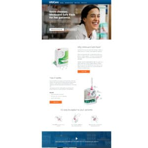 Minisite and landing pages // To serve the traditional and digital marketing tactics employed in the campaign, FrogDog developed a minisite and a series of landing pages with key calls to action.
